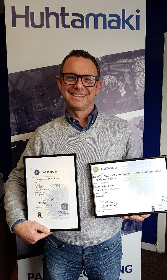 Deputy Business Manager gains NEBOSH accreditation