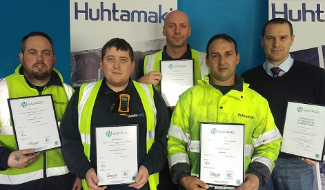 Huhtamaki staff gain WAMITAB accreditation